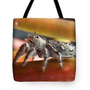 Jumper Spider Tote Bag