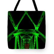 Junction Bridge Tote Bag