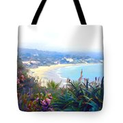 June Gloom Morning At Laguna Beach Coast Tote Bag