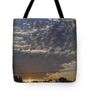 June Sunrise From The Series The Imprint Of Man In Nature Tote Bag