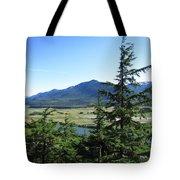 Juneau From Glacier Gardens Tote Bag