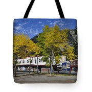 Juneau In The Fall Tote Bag