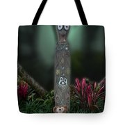 Jungle Bear 2 Tote Bag