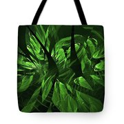 Jungle Clearing  Tote Bag