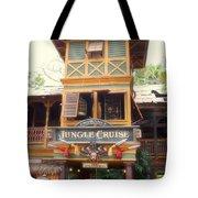 Jungle Cruise Adventureland Disneyland Tote Bag