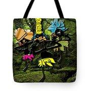 Jungle Dancers Tote Bag