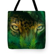 Jungle Eyes - Jaguar Tote Bag
