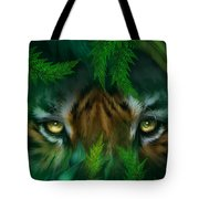 Jungle Eyes - Tiger Tote Bag