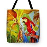 Jungle Flame Tote Bag