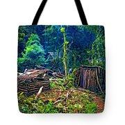 Jungle Homestead Tote Bag