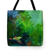 Jungle Rains I Tote Bag by Tracy L Teeter