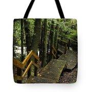 Jungle Walkway Tote Bag