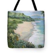 Jungle Waves Tote Bag