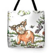 Junior Pig Tote Bag
