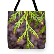 Juniper Leaf Tote Bag