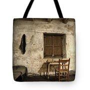 Junipero Serra Cell In Carmel Mission Tote Bag