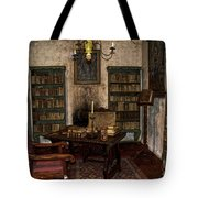 Junipero Serra Library In Carmel Mission Tote Bag