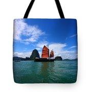 Junk Boat Tote Bag