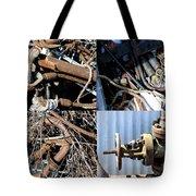 Junk Collage  Tote Bag