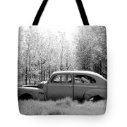 Junked Ford Car Tote Bag