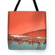 Junkyard Horizon Tote Bag
