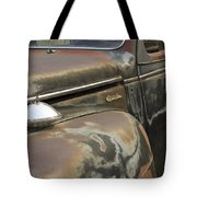 Junkyard Series Old Plymouth Tote Bag