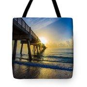 Juno Beach Sunrise Tote Bag