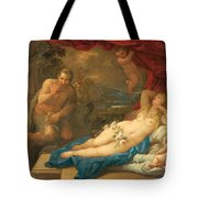 Jupiter And Antiope Tote Bag