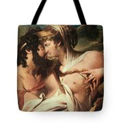 Jupiter And Juno On Mount Ida Tote Bag
