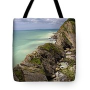 Jurassic Coast From Lulworth Cove Tote Bag