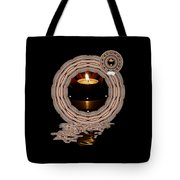 Just A Candle In The Wind Tote Bag