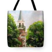 Just A Closer Walk With Thee Tote Bag