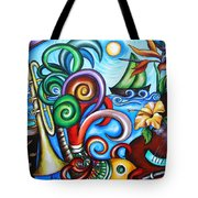 Just A Day In Paradise Tote Bag