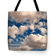 Just A Face In The Clouds Tote Bag