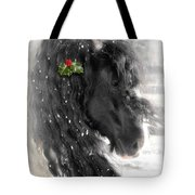 Just A Little Holly Will Do Tote Bag