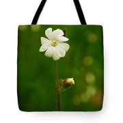 Just A Little White Flower Tote Bag