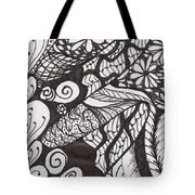 Just A Tangle Tote Bag
