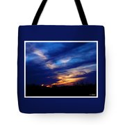 Just About Night Tote Bag