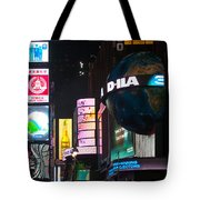 Just Above The Crowds Tote Bag
