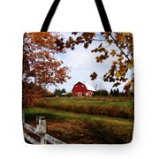 Just Across The Fence Tote Bag