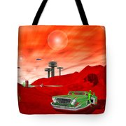 Just Another Day On The Red Planet 2 Tote Bag