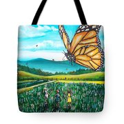 Just Another Monarch Monday Tote Bag
