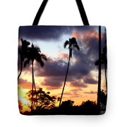 Just Another Sunrise In Paradise Tote Bag