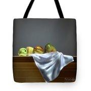 Just Apples And Mangos  Tote Bag