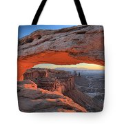 Just Before Sunrise At Canyonlands Tote Bag