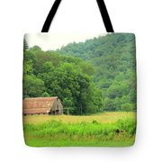 Just Before Sunset, Blue Ridge Mountains Tote Bag
