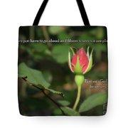 Just Bloom Tote Bag