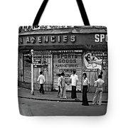 Just Buddies Bw Tote Bag