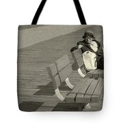 Just Chilling Tote Bag