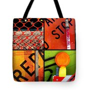 Just Construction Tote Bag